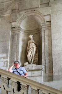 In a castle in Blois, France