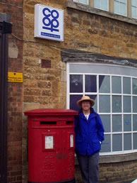 At an English Postbox