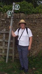On a hike near Moreton-on-Marsh, England