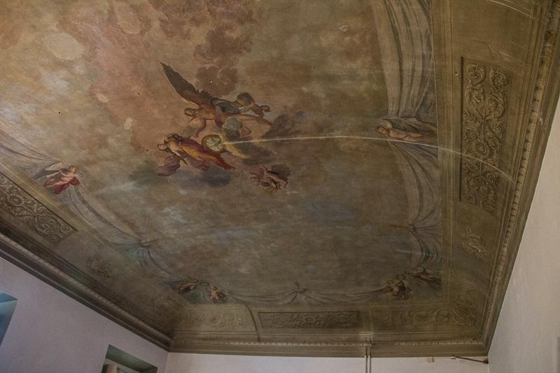 ceiling in Casa Santo Nome di Gesu