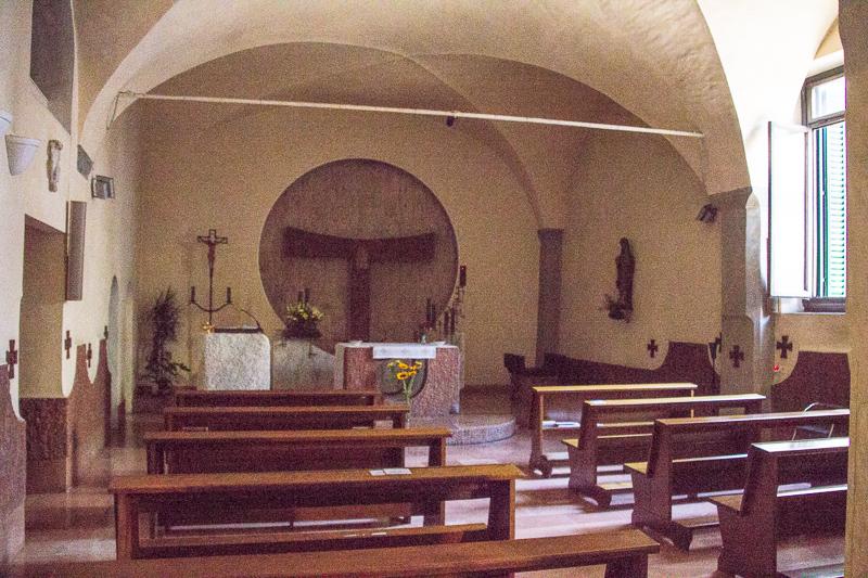Chapel at Casa Santo Nome di Gesu
