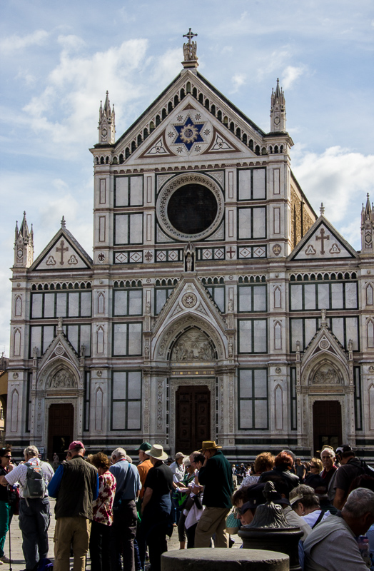 The church of Santa Croce in Florence, Italy.