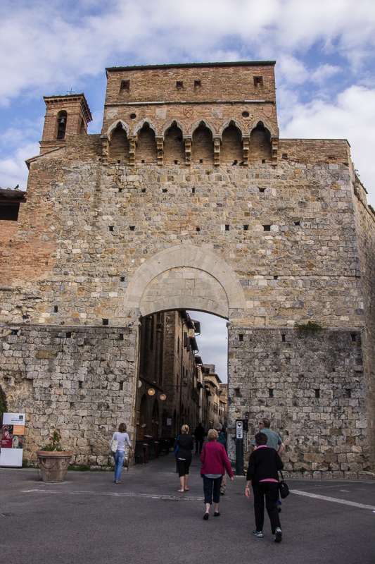 entrance to San Gimignano