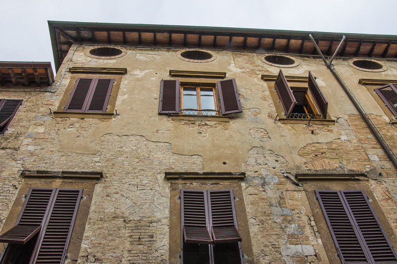 Building in San Gimignano