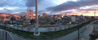 Sunset Across the Street