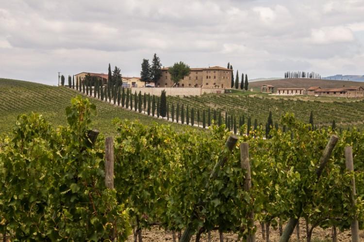 A villa in Tuscany